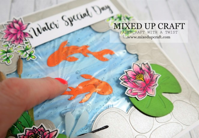 LOOK! Amazing Gel Filled Cards Using Real Hair Gel!