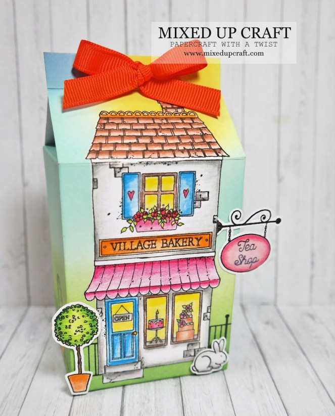 Cute Milk Carton Gift Boxes