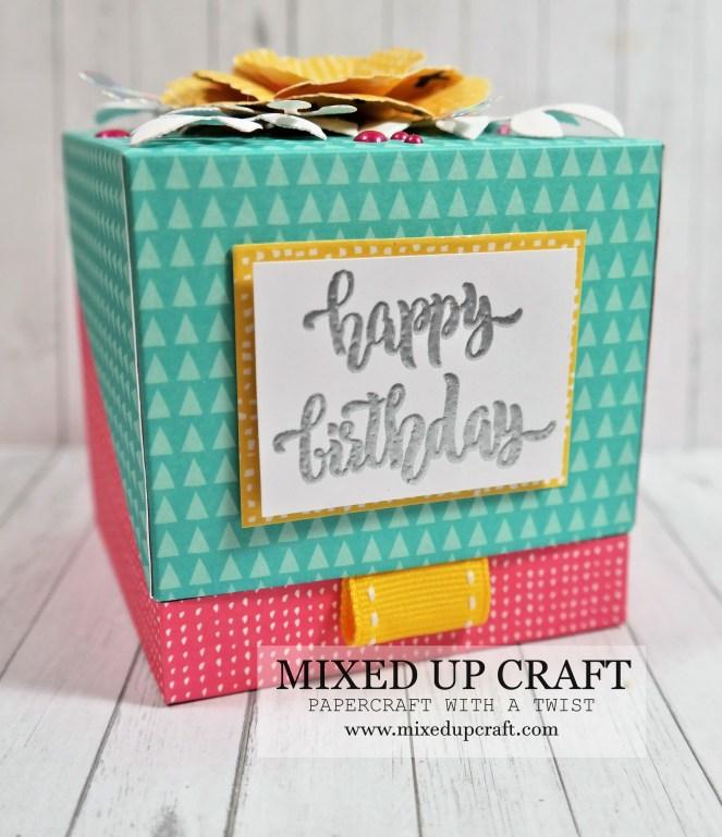 Flip Lid Cube Gift Box