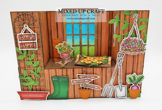 Bench Fold Card