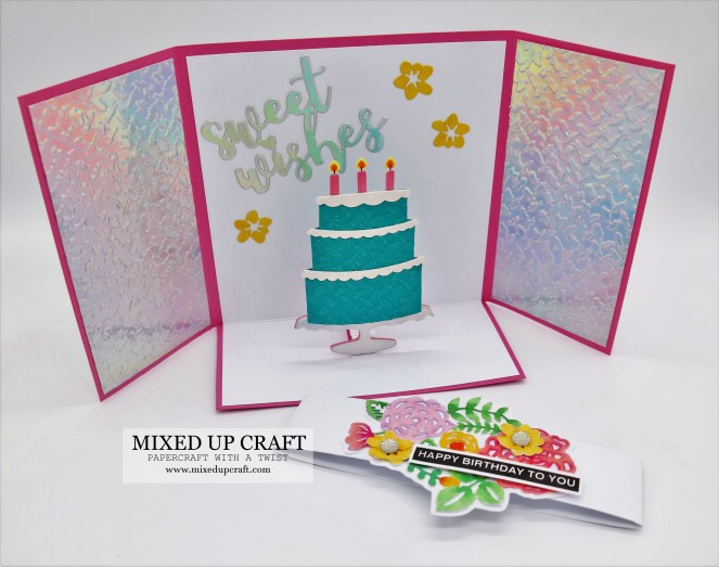 Pop Up Gatefold Card