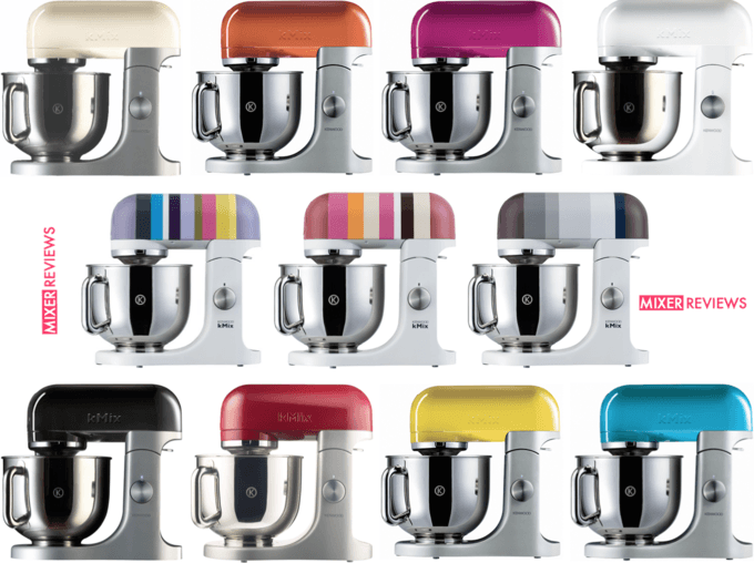 Kenwood kMix Review  Colourful Stand Mixer But Practical