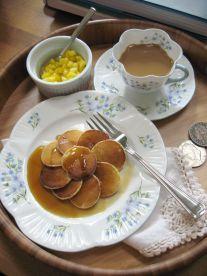 Layers - Silver Dollar Pancakes