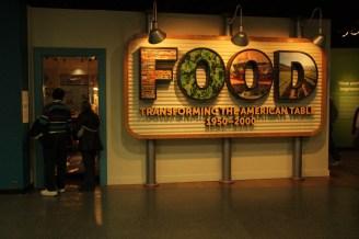 Smithsonian Food Exhibit