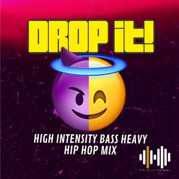 high intensity hip hop funk bass heavy mix for group fitness and video use