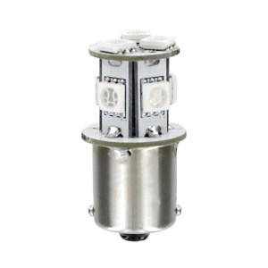Lampa P21W 24/28V BA15s 100lm HYPER-LED24 ΛΕΥΚΟ (ΜΟΝΟΠΟΛΙΚΟ) BLISTER 1ΤΕΜ.