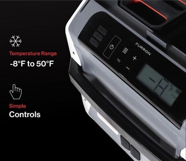 Furrion eRove Battery-Powered Refrigerator