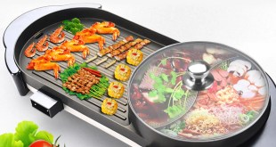 Hot Pot Smokeless Barbecue Machine
