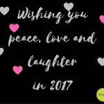 Happy New Year!!! happynewyear peace love laughter 2017 gelukkignieuwjaar