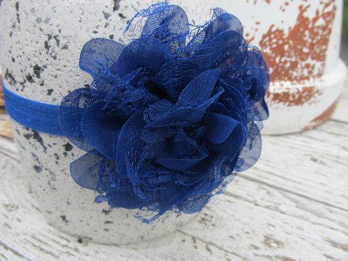 Haarbandje Blue Bloom