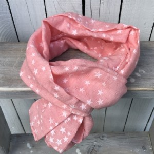 Sjaal Pink Stars