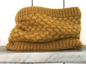 Colsjaal Knitted Oker