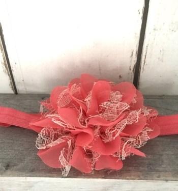 Haarbandje Coral Bloom