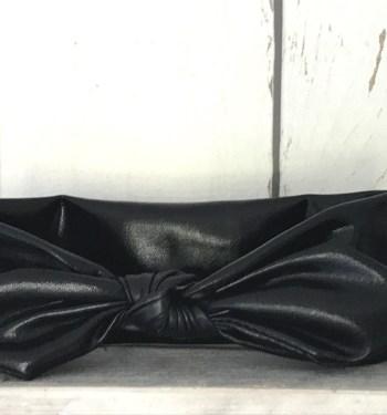 Haarbandje Leatherlook