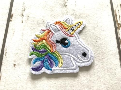 Strijkapplicaties Unicorn voor meisjes