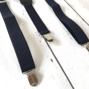 Bretels Mono Donkerblauw