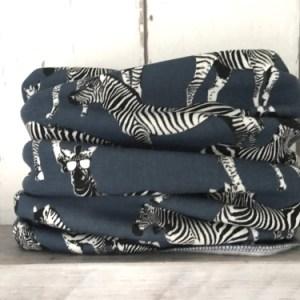 Colsjaal Zebra Blue