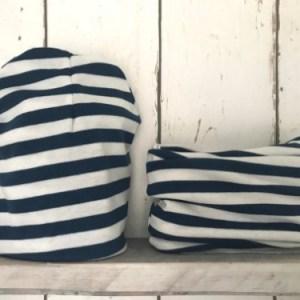 Mutsje en Colsjaaltje Blue Stripes