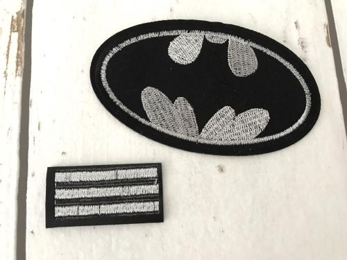 strijkapplicaties jongens batman