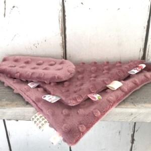 Oudroze hnuffeldoekje voor meisjes