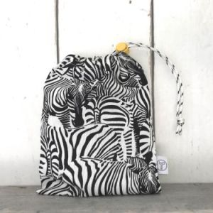knikkerzakje zebra