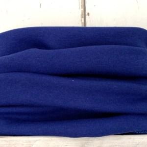 Effen kobaltblauwe colsjaal voor jongens en meisjes.