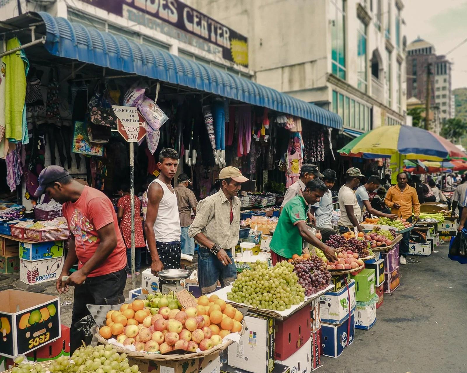 Mauritius market, Port Louis