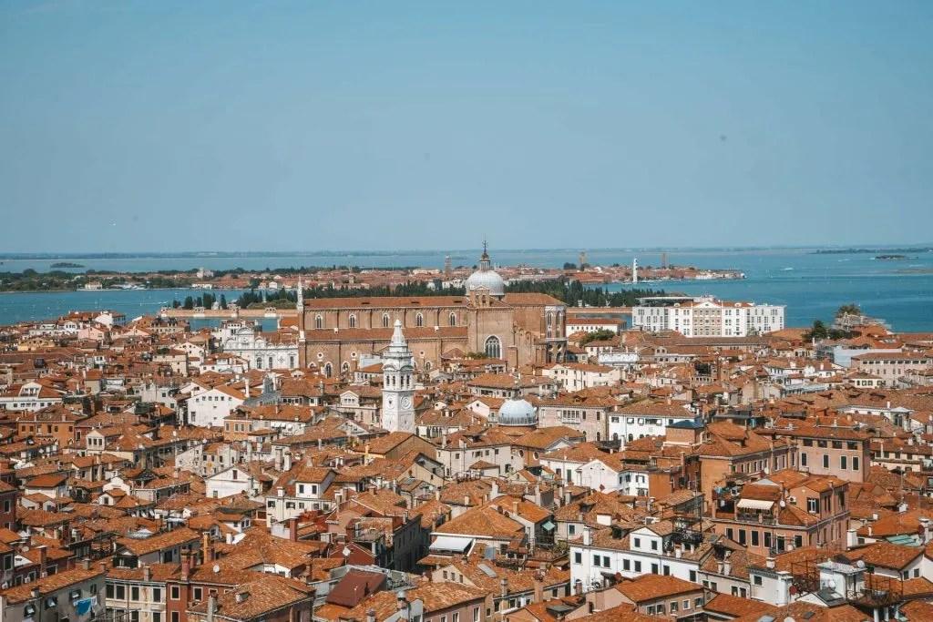 Venice viewpoint, St. Mark's Campanile