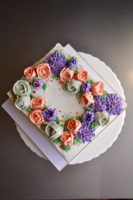 Another flower cake