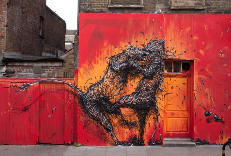 Some stunning stylings of street artist DAleast