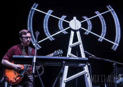 Public Service Broadcasting supporting Kaiser Chiefs @ Bournemouth International Centre, February 2015.