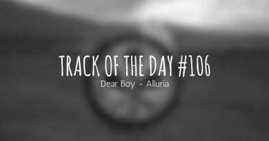 Track of the day 106 - Dear Boy - Alluria