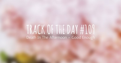 Track of the day 109 - Death In The Afternoon - Good Enough
