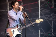 We Are Scientists performing live at Victorious Festival 2015.