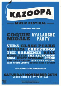 mix it all up kazoopa music festival lineup announcement