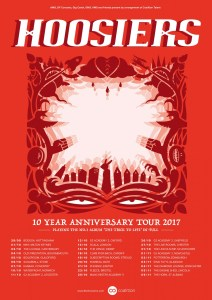 The Hoosiers The Trick To Life 10th Anniversary tour 2017