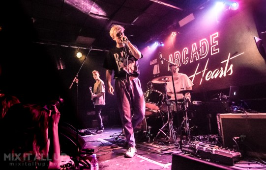 Arcade Hearts live at Joiners, Southampton - 23/02/19