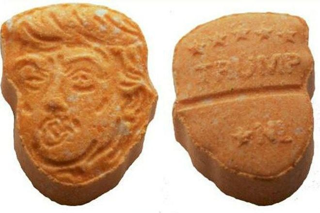 Warnings have been issued about the Donald Trump pills in circulation