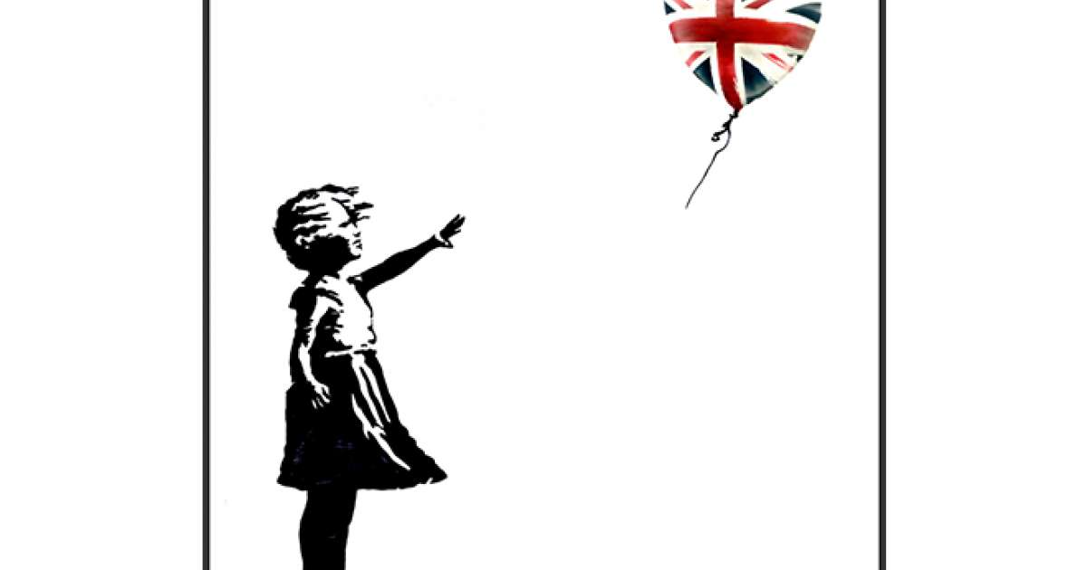 Banksy is offering free art to people voting against the