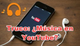 truco música en youtube