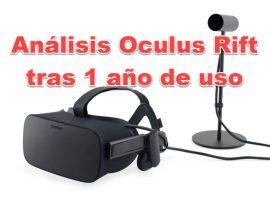 un año Oculus Rift