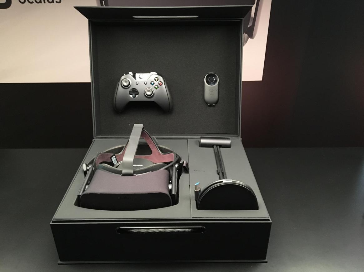 empaquetado Oculus Rift