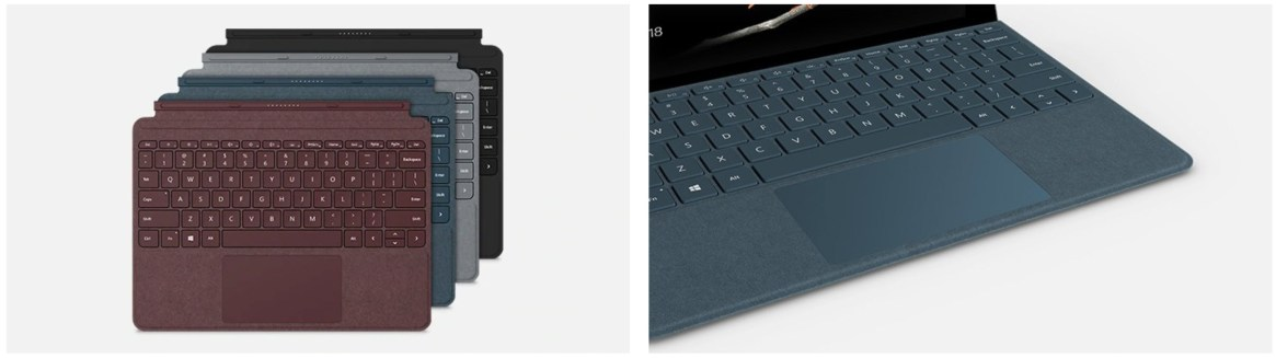 teclado surface go