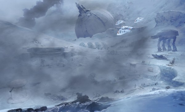 Star Wars Battlefront Renegade Squadron Concept Art