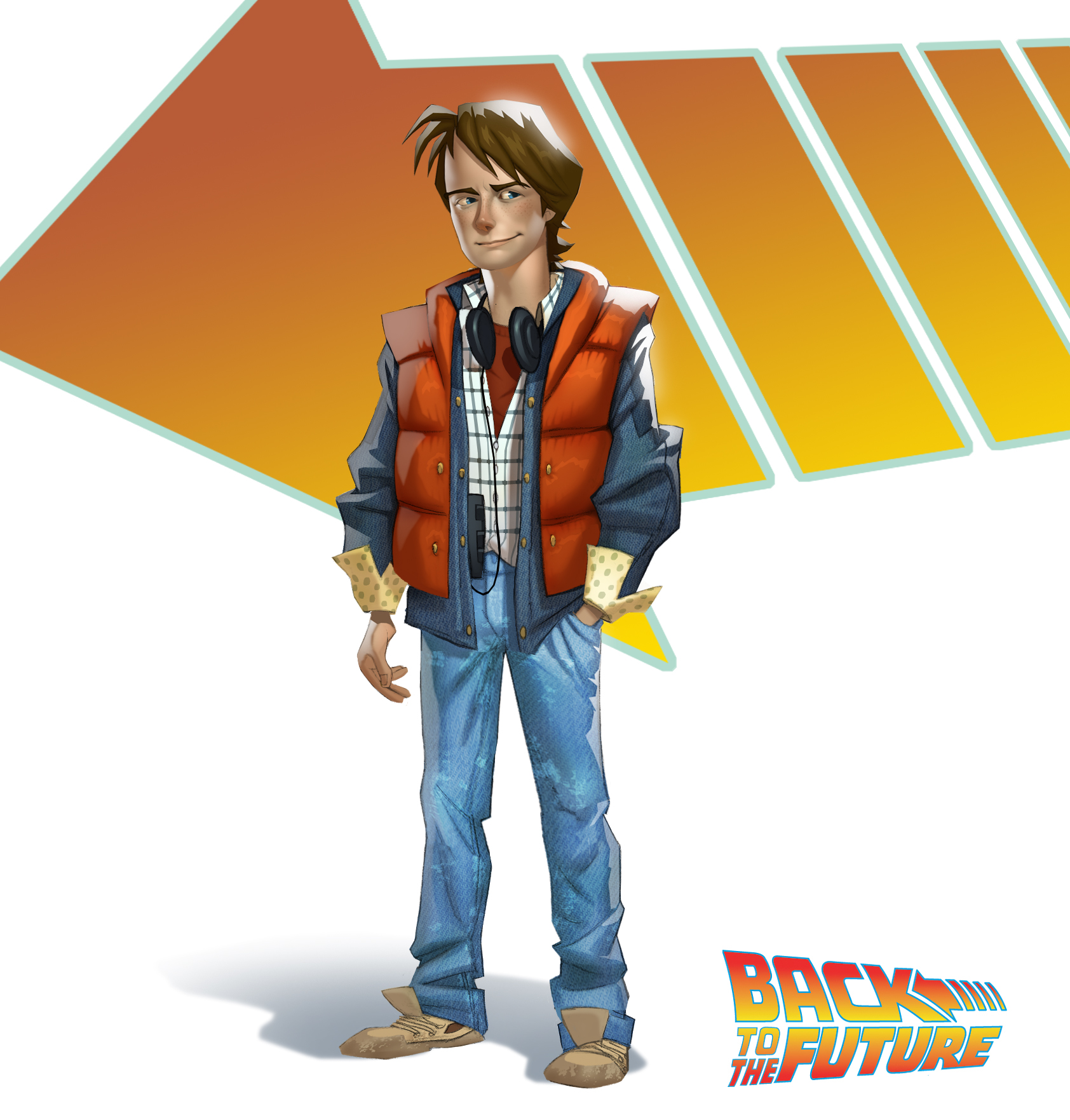 Back To The Future Concept Art