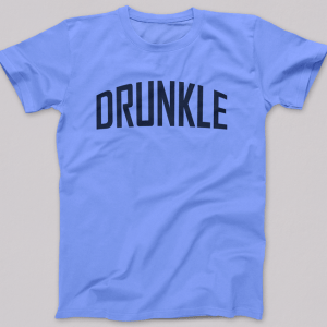 Drunkle Tshirt Blue