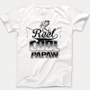 Reel Cool Papaw T-shirt (Fishing T-shirt)