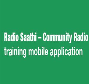 Community Radio – Radio Saathi app