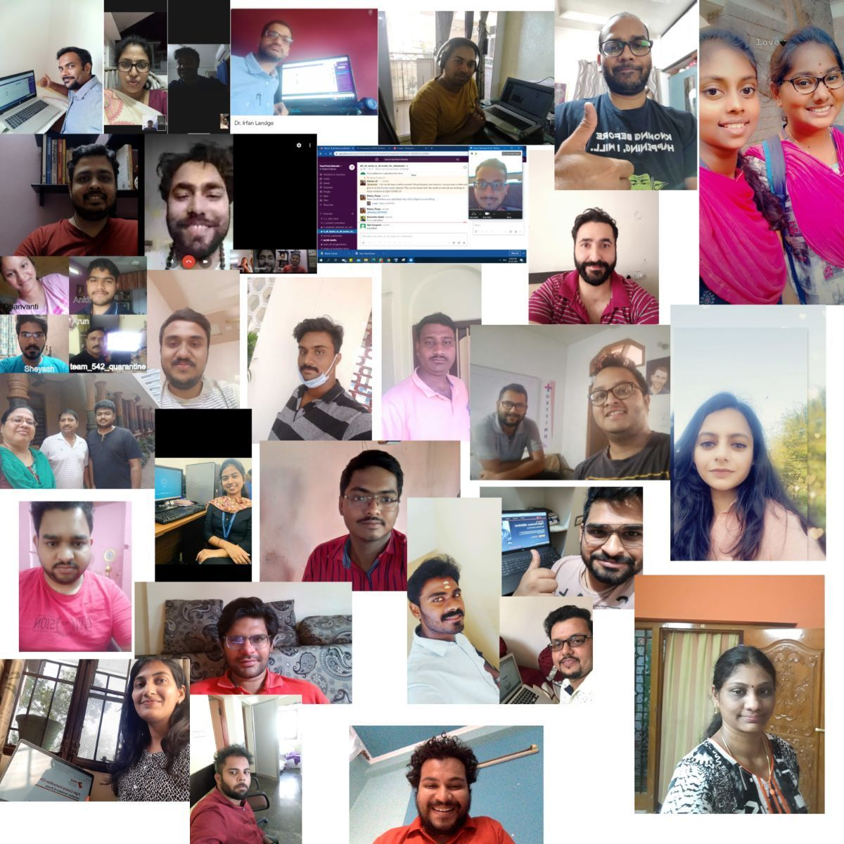 Social-media-selfie-collage-campaign-of-particippants