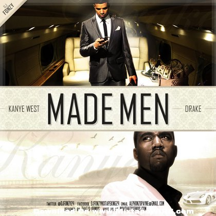 Kanye West Amp Drake Made Men Mixtape By Dj Fonzy Mixtape
